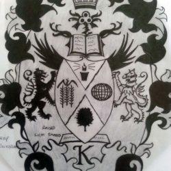 Letter K crest 7