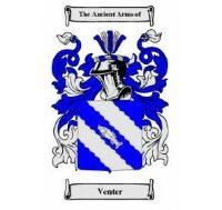 Venter Family Crest-270x189